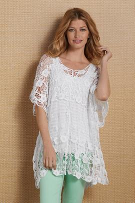 Brussels Lace Top