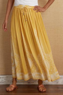 Sunglow Gauze Skirt