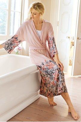 Soft Floral Robe