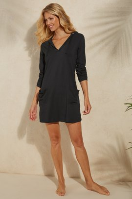 UPF 50+ Beach Cover Up Dress