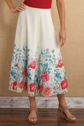 Floretta Border Skirt