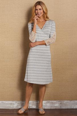 Laci Shapely Surplice Dress