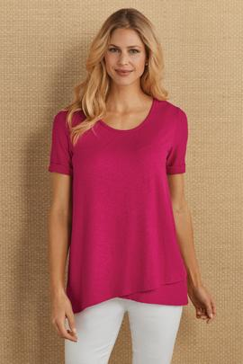 Delaney Crisscross Tee