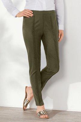 Rochelle Ruffle Ankle Pants