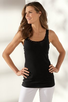 Lace Underwire Tank