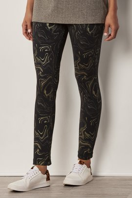 Argento Stretch Leggings