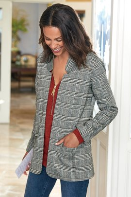 St. James Plaid Jacket