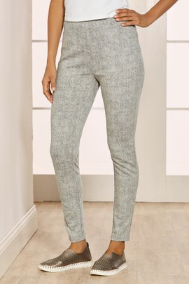 Petites Slimsations Printed Ponte Leggings