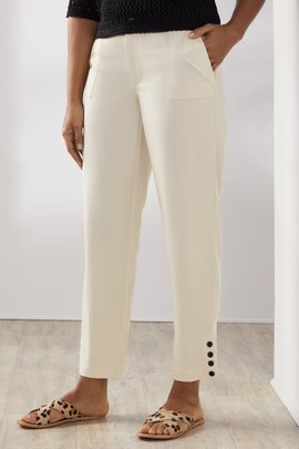 Petites Lavato Tencel® Pull-On Pants