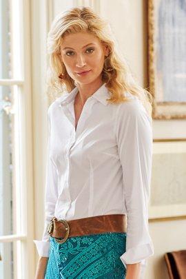 Petites Long Sleeve Addilyn Shirt