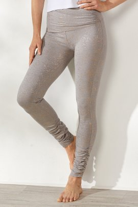 Crossover Ruched Leggings