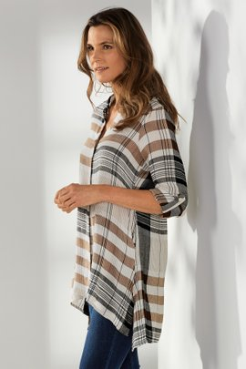 Emmanuelle Plaid Shirt