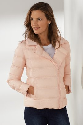 Pretty in Pink Puffer Coat