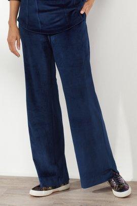 Velour Pull On Pants