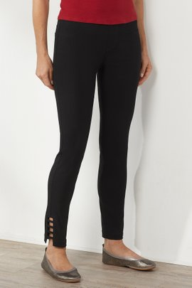 Super Stretch Lattice Ankle Pants