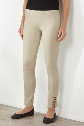 Super Stretch Lattice Ankle Pants