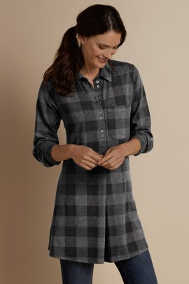 Mad About Plaid Tunic