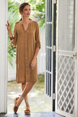 Malindi Shirt Dress