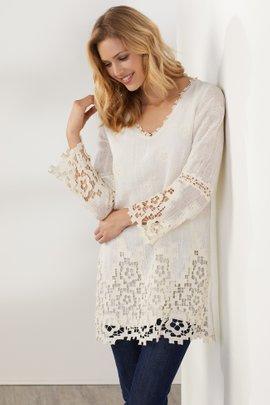 Austen Lace Tunic