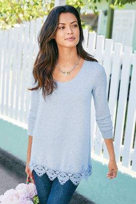 Olivia Lace Tunic