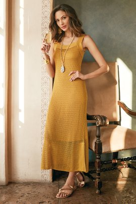 Alsace Crochet Dress & Slip