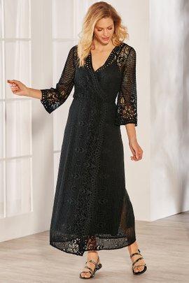 c2b324343d4 + QUICKSHOP Tosca Crochet Dress   Slip