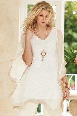 Emeline Silk Tunic