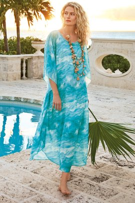 Oceania Caftan and Slip