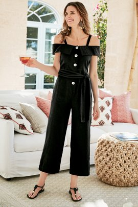 Raissa Crop Jumpsuit