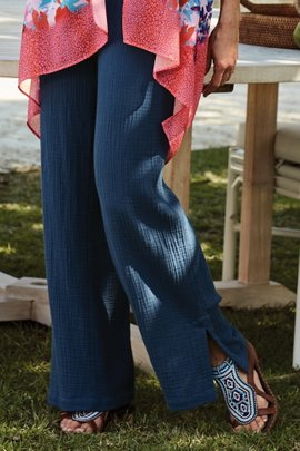 Key Biscayne Gauze Pants