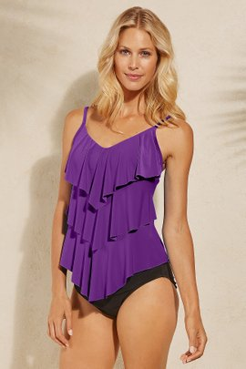 Magicsuit Solid Rita Tankini Top