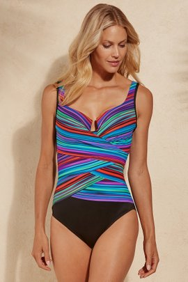 Miraclesuit True Colors Layered Escape Swimsuit