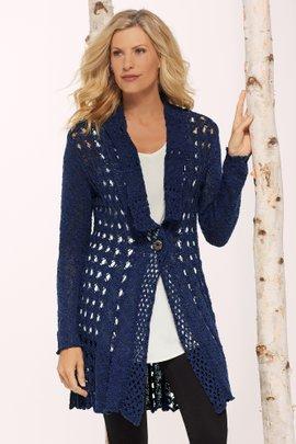 Teressa Crochet Cardi