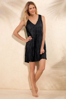 312aa4a079d + QUICKSHOP Packable Crinkle Coverup Dress