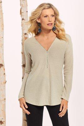 Zen Zip Pullover