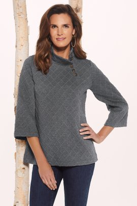 Deco Grid Pullover