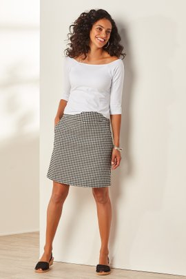 Women Shapely Skort