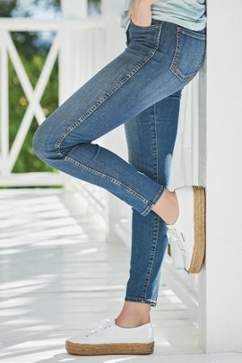 KUT Diana Fab Ab Ankle Jeans