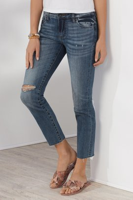 KUT Reese Ankle Jeans