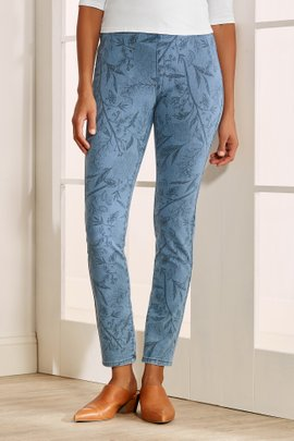The Ultimate Denim Pull-On Skinny Jeans