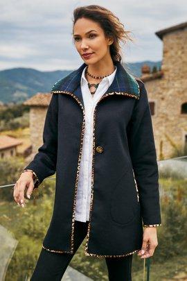 Blackwatch Plaid Coat