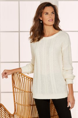 Vixen Cable Sweater