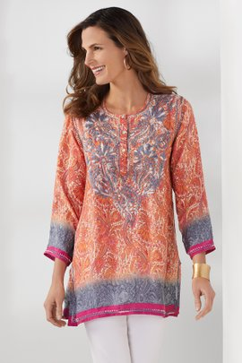Mosaic Sunset Tunic
