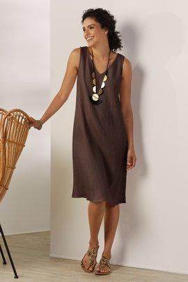 La Femme Gauze Dress