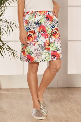 Watercolor Slimsations Skort