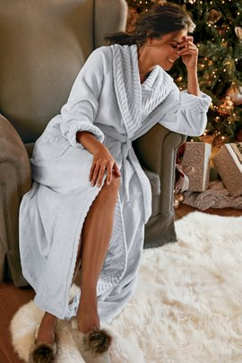 Women Royal Plush Robe
