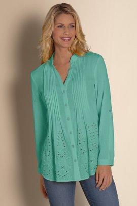 Glam Gauze Shirt