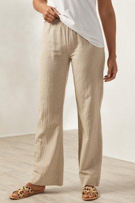 Beachy Gauze Pants
