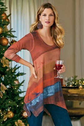 Sunset Renaissance Tunic