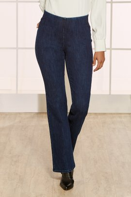 The Ultimate Denim Pull-On Bootcut Jeans